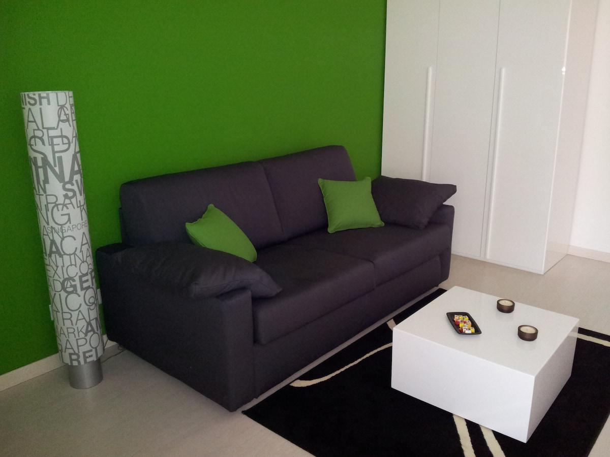 New studio in the Rome's seaside