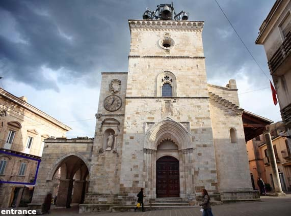 Historical house Guardiagrele (CH)