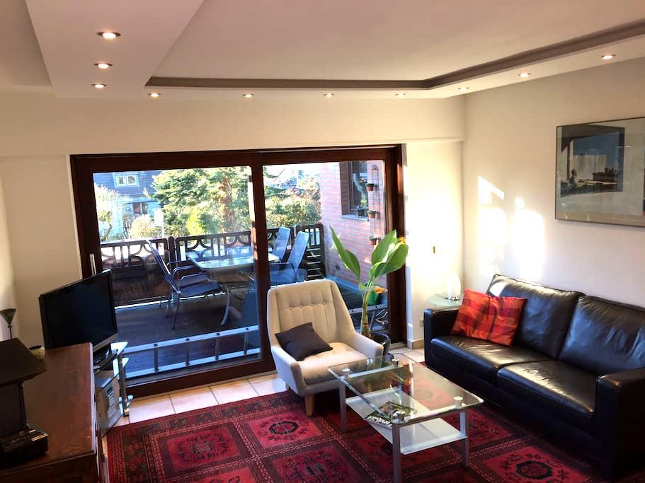 Ruhige Wohnung in guter Lage zu Messe , Flughafen - Korschenbroich - Apartment