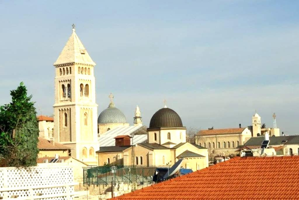 Old Jerusalem cozy vacation rental - Jerusalém - Apartamento