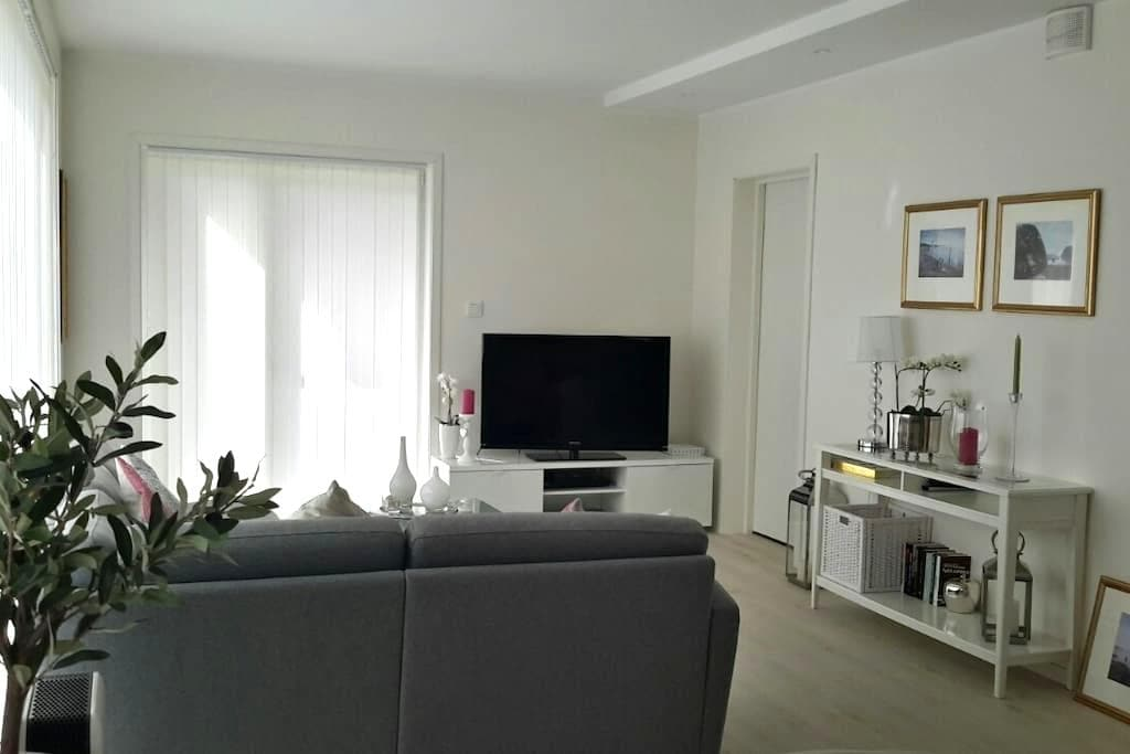 Brand new apartment 15min from Bergen City - Fjell - Lyxvåning