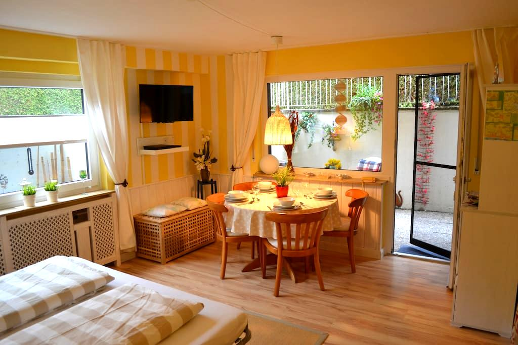 Apart. am Kloster Hegne, WLAN, Terrasse, See 800m - Allensbach - Apartment