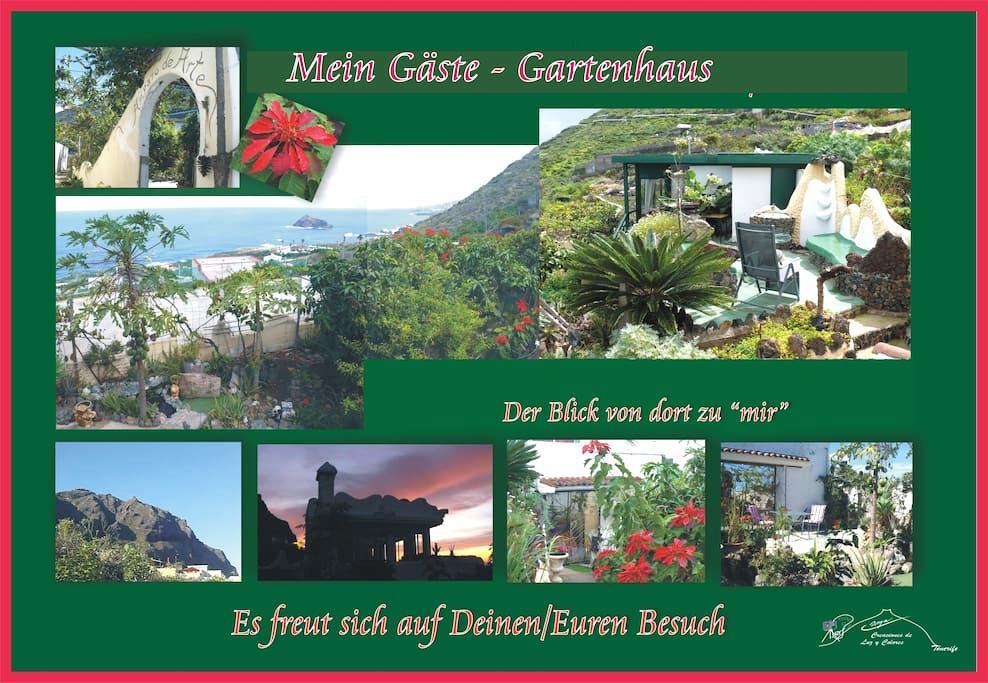 Gardenpavillon / Studio - Garachico Las Cruces - Daire