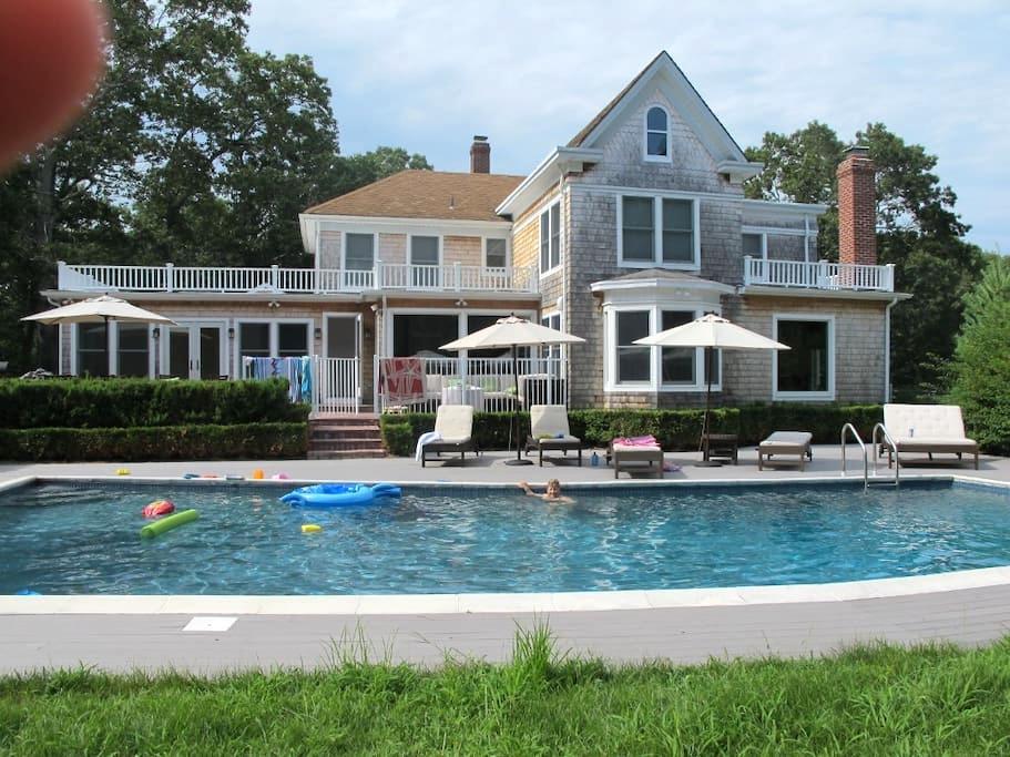 Estate, Newly Renovated sleeps 14 - Hampton Bays - Maison
