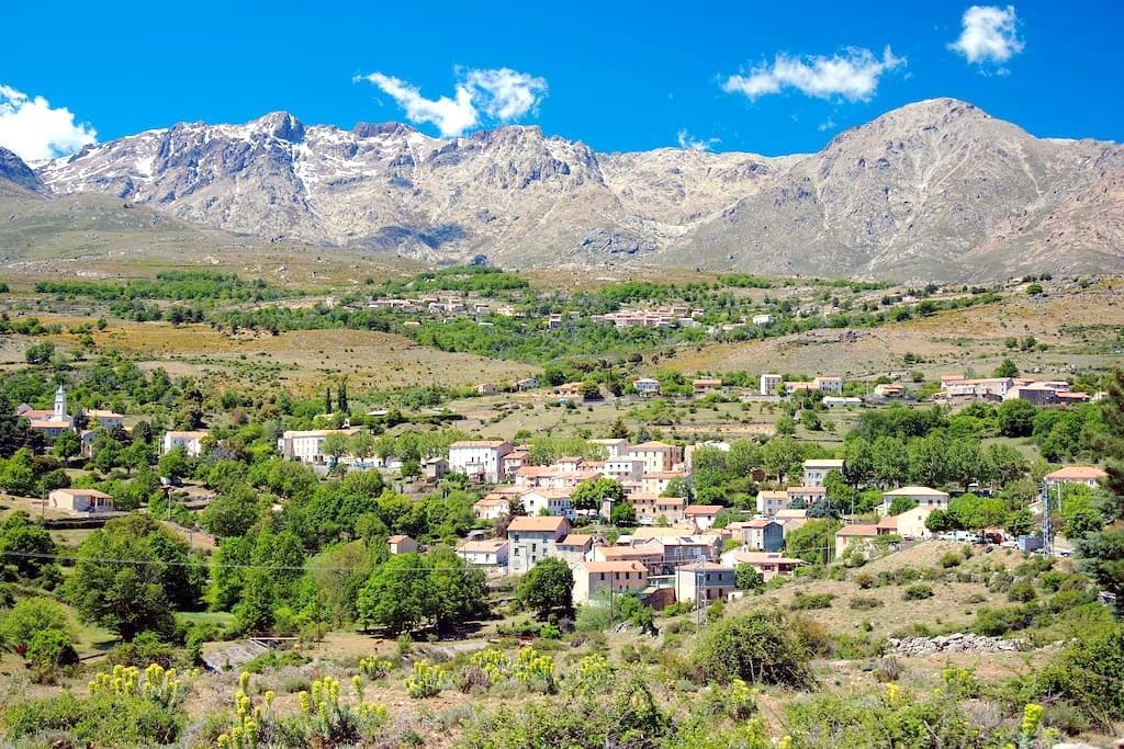 Village house / Heart of Corsica - Lozzi - Hus