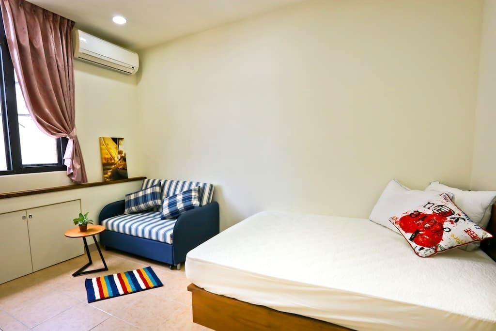 Double Bed Room - Hualien City - Hus
