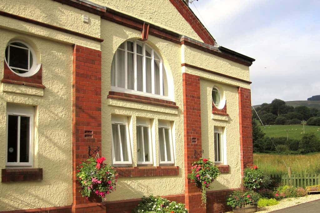 B&B in the Smallest Town in Britain - Llanwrtyd Wells