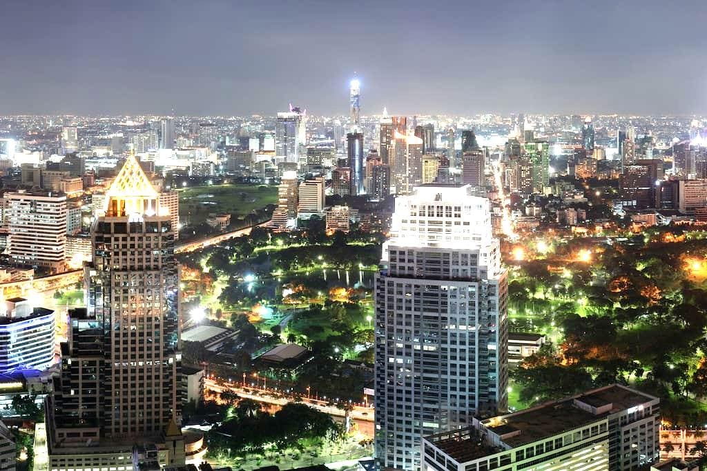 NEW! DOWNTOWN HIGH RISE BY MRT/MALL - Bangkok - Apartment