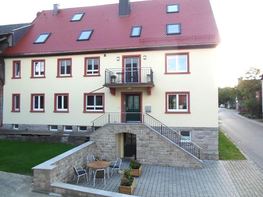 Ferienwohnung in Weigenheim, Tor zum Weinparadies - Weigenheim - Leilighet