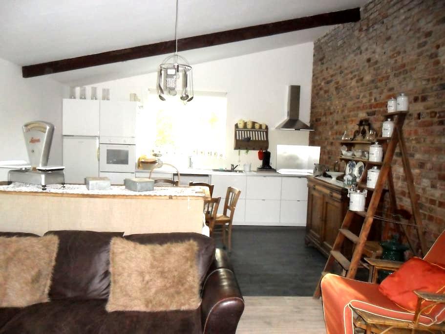 Home vintage - Gîte de campagne - Somme - Autheux