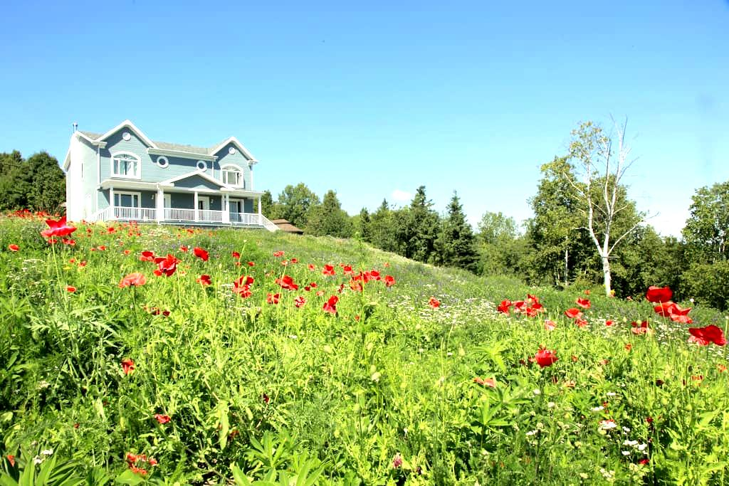 Le Charleau - Baie-Saint-Paul - Apartamento com serviços incluídos