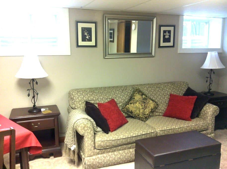 New private quiet apartment - Lake Placid - Appartement