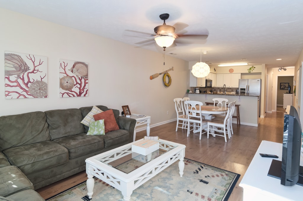 Open concept living/dining/kitchen. Plenty of space for the whole family to enjoy.