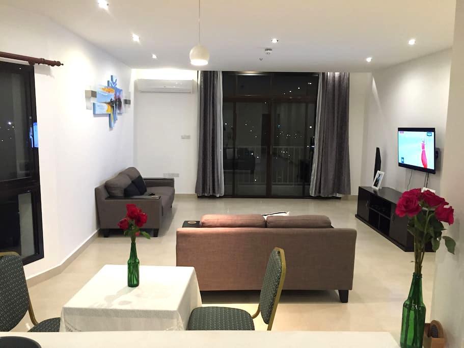 En-suite large bedroom close to city centre - Dar es-Salam - Departamento