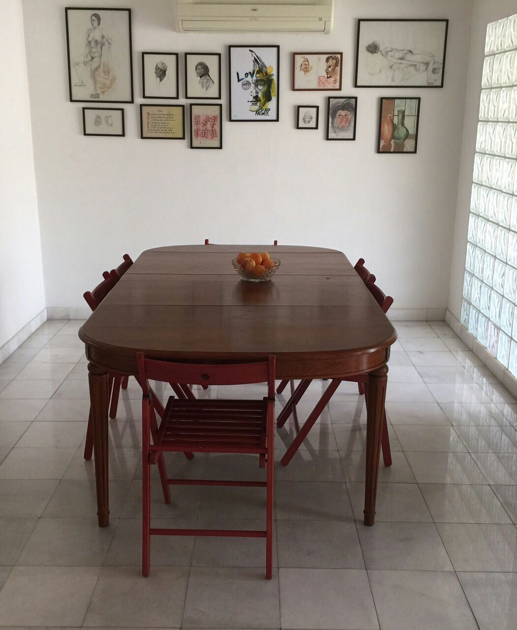 Dine, munch and nibble in our dining room