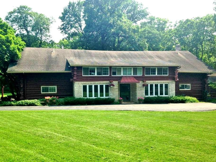 Log Haven Estate - Libertyville