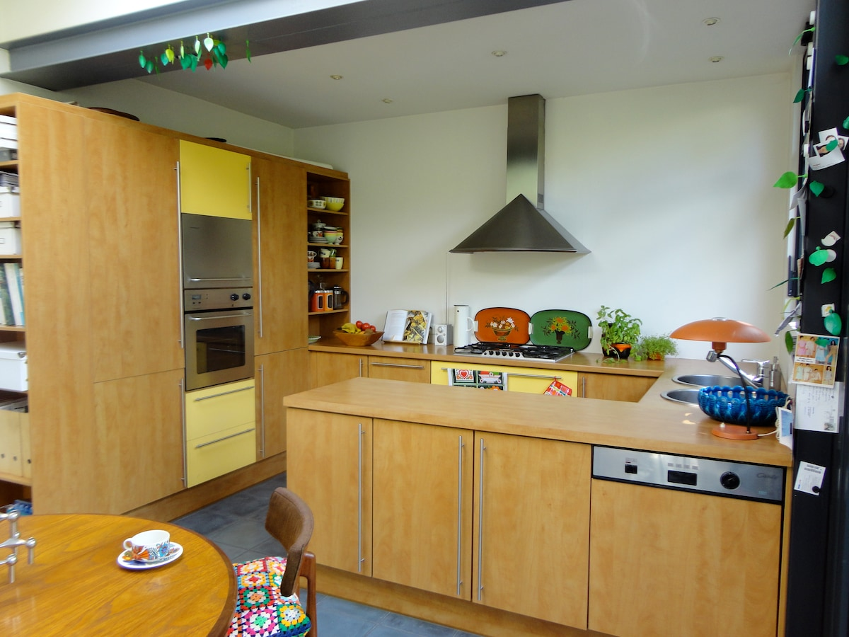 the kitchen where you can make your own breakfast