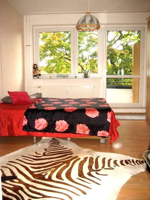 Kleine Wohnung mit Balkon-Zentral - Erfurt - Apartamento