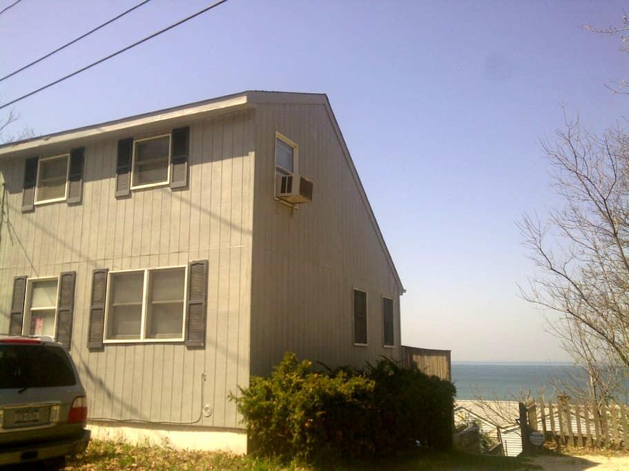 Ocean View House - Steps from Beach - Calverton