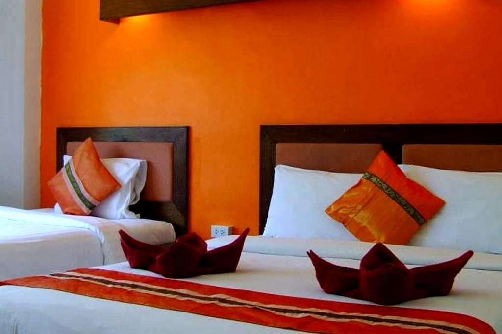 Triple Room, Art Hotel Koh Samui - Ko Samui - Bed & Breakfast