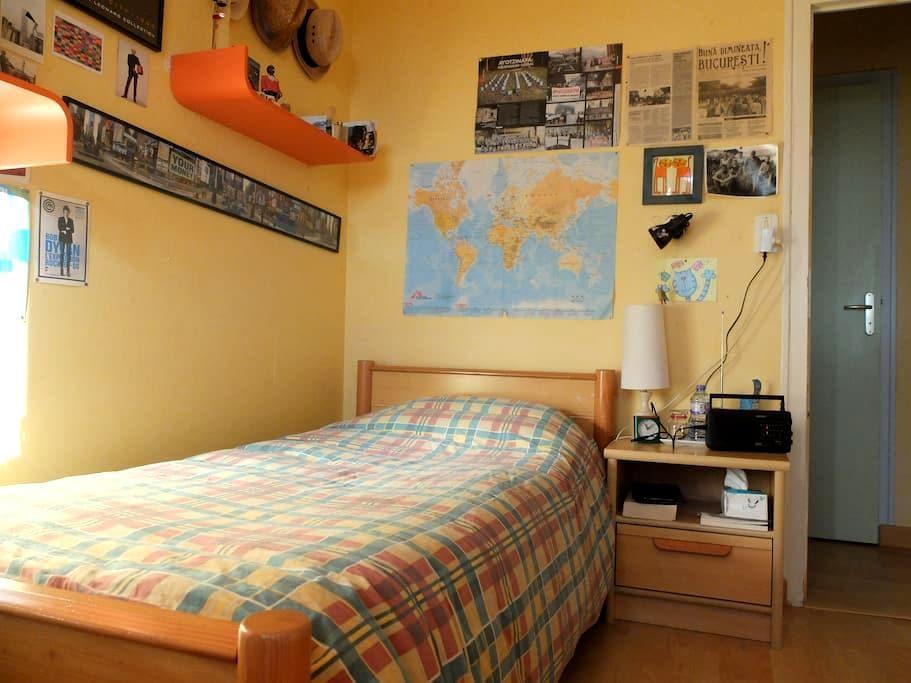 Maison en campagne Chambre 1/4 - Liffré - Bed & Breakfast
