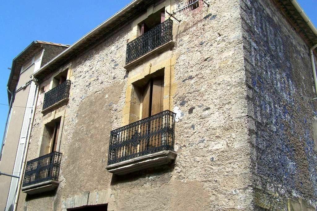 Chambre - Bedroom - Zimmer 7 km Pézenas - Caux - Reihenhaus