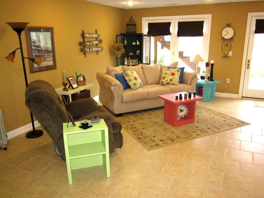 Spacious, comfy room near Fort Knox - Radcliff - Casa