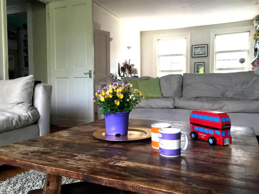 Brixton Garden Flat with Balcony - Londres - Appartement