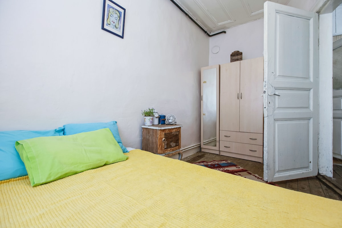 Room in old greek house in central