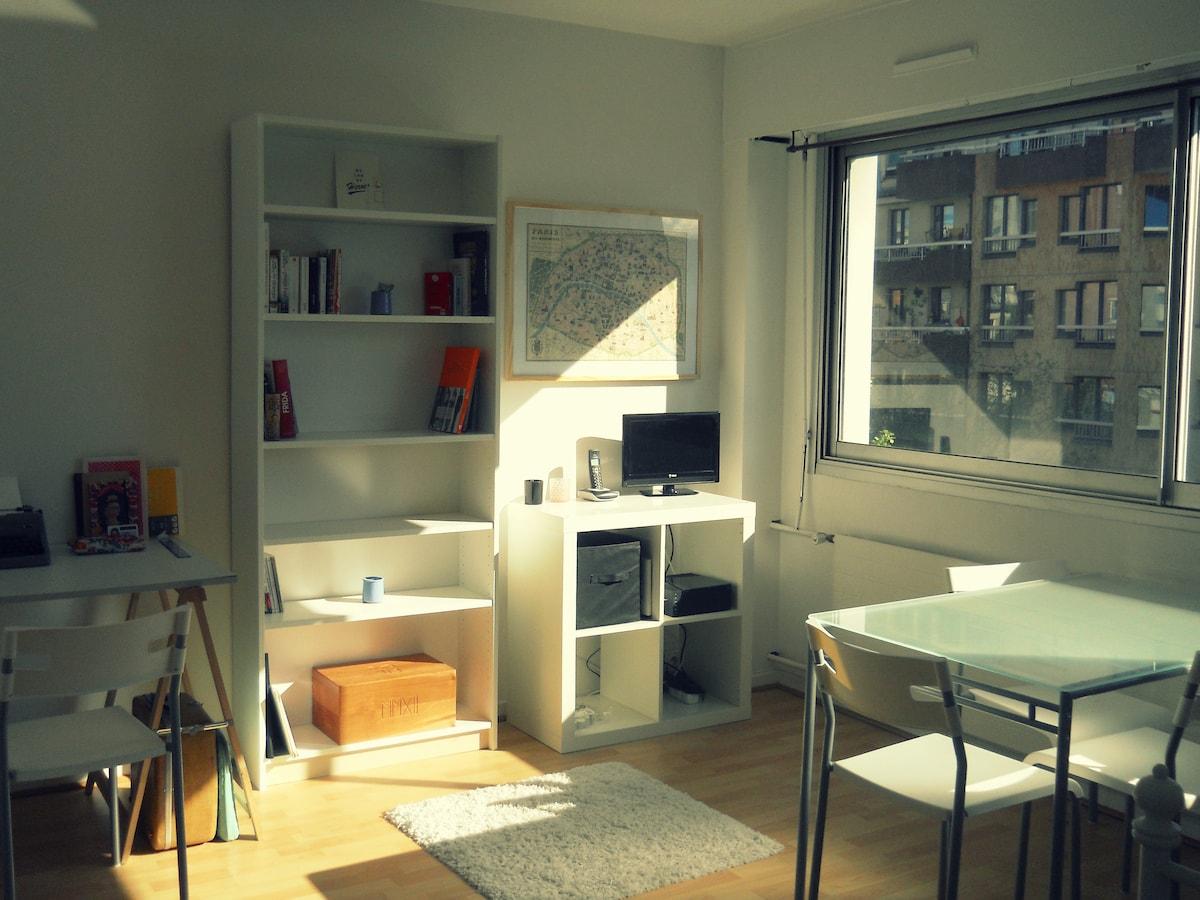 Nice & cosy flat near Montmartre