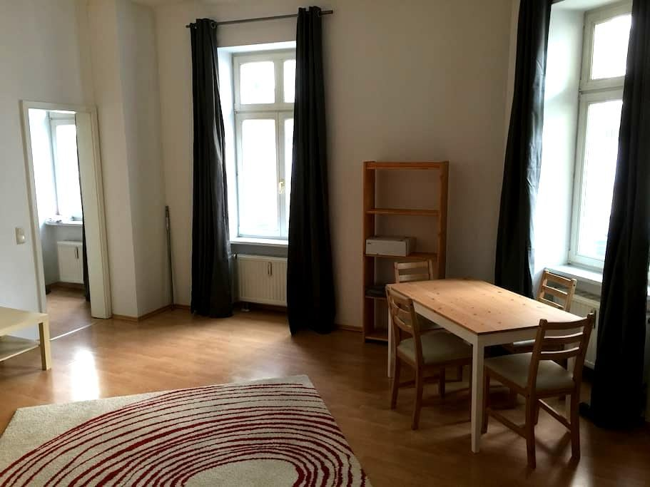 Nice Studio Apartment centrally located - Leipzig - Lejlighed