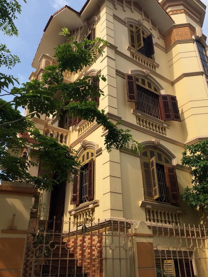 Peaceful French Villa in Hanoi