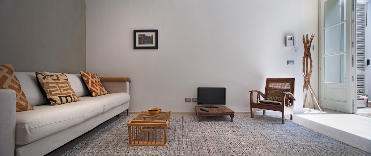 our living room for your relax after a walking day