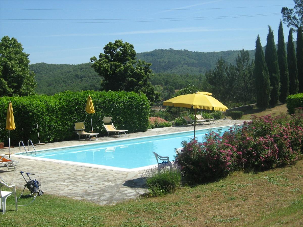 Apartment in Villa Badia a Ruoti