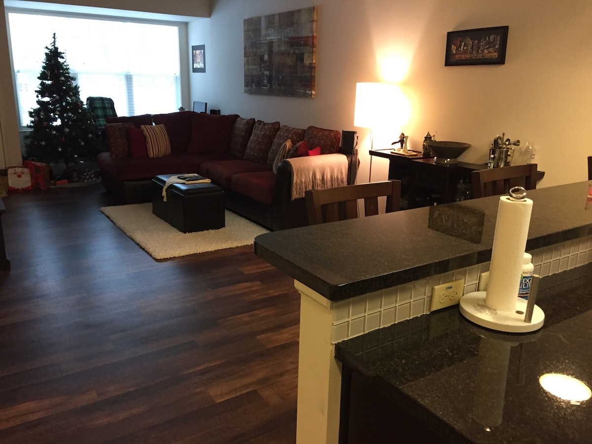 Modern apartment 35 mins from NYC