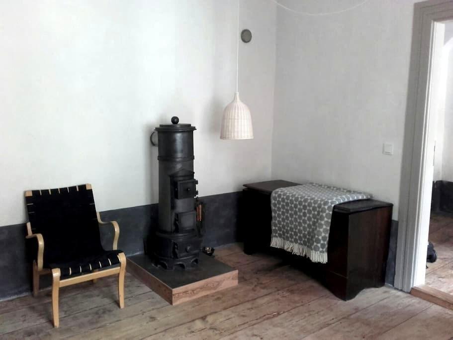 Ferienwohnung mit Ofen in Stralsund - Stralsund - Apartemen