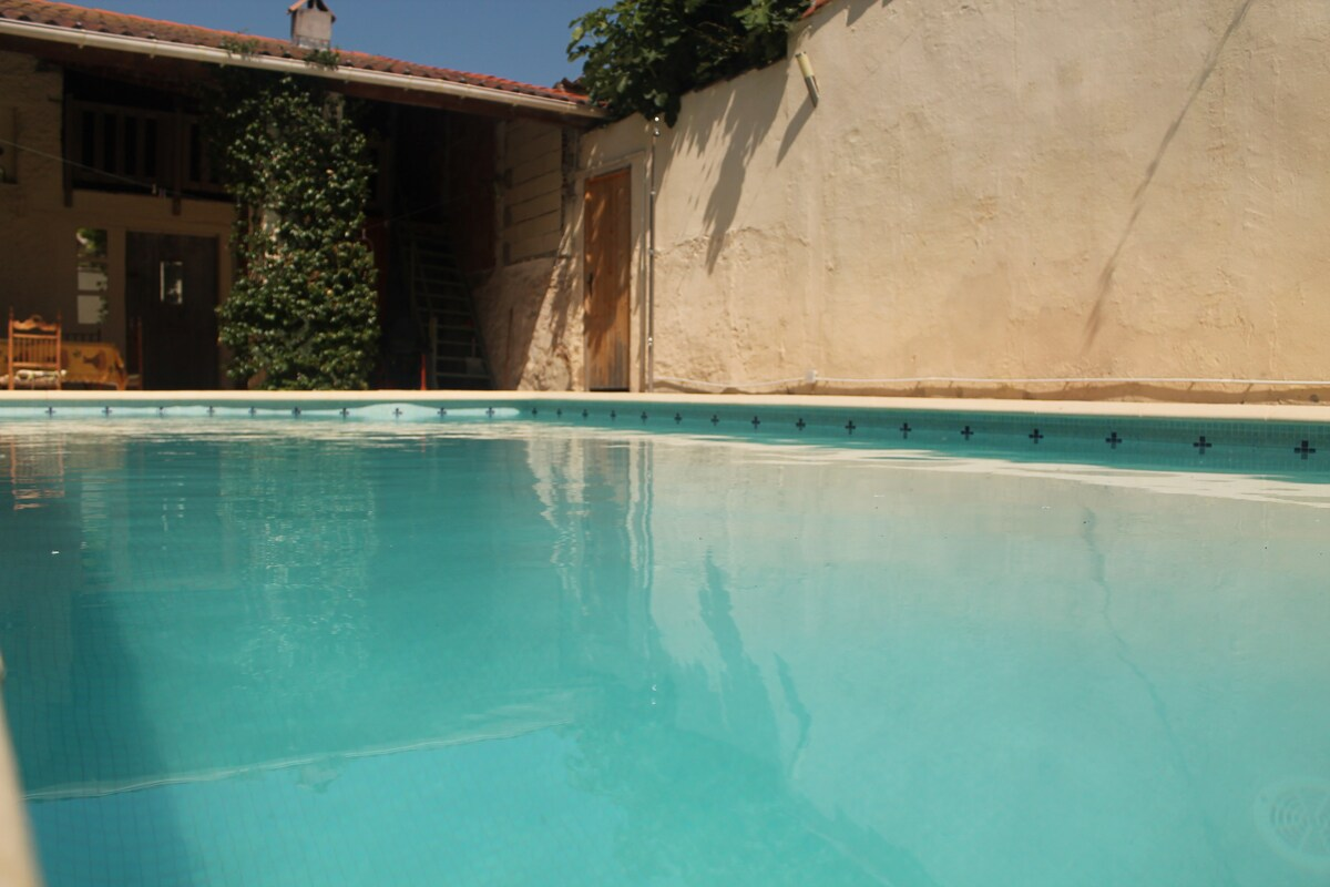 Sunny home in the South of France!