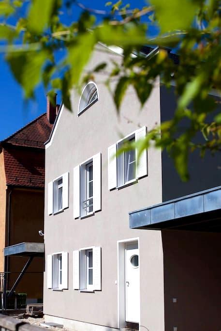 neues Appartement, zentral u. ruhig - Augsburg - Byt