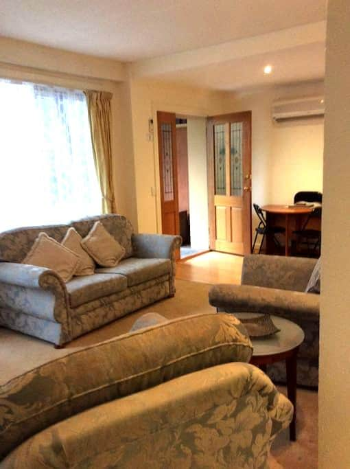 2 bedroom, self contained & Private apartment - Warrandyte - Apartemen