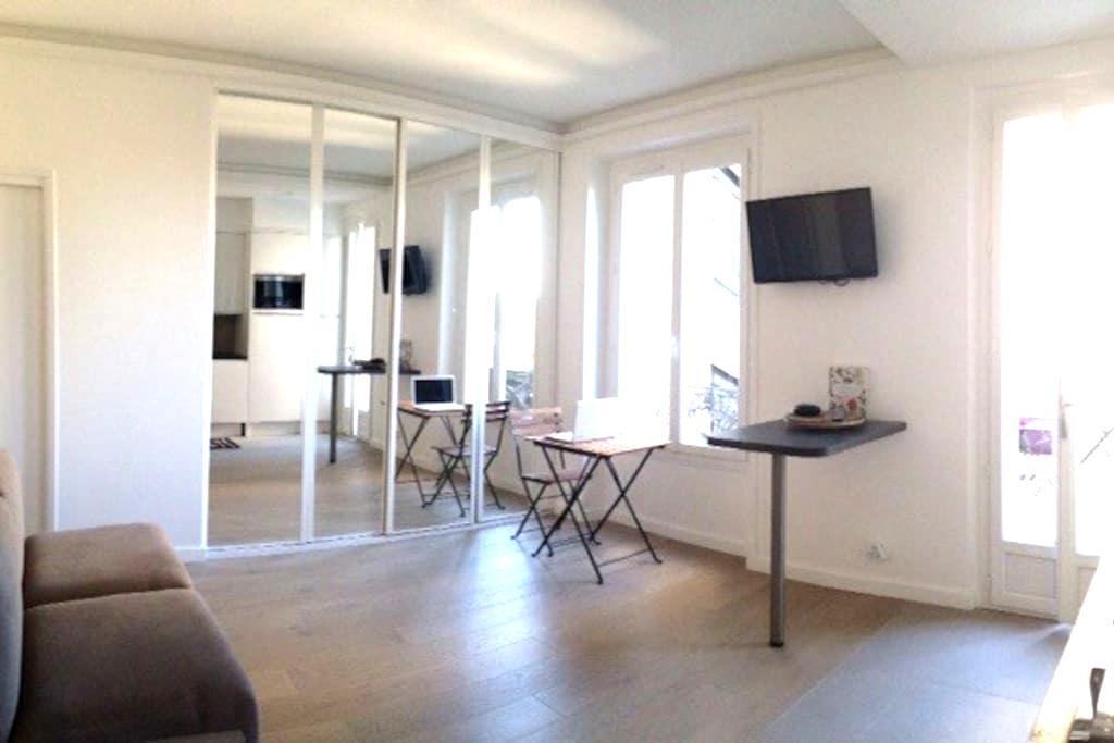 Modern Studio w/terrace Sacré Coeur - Paris - Apartamento