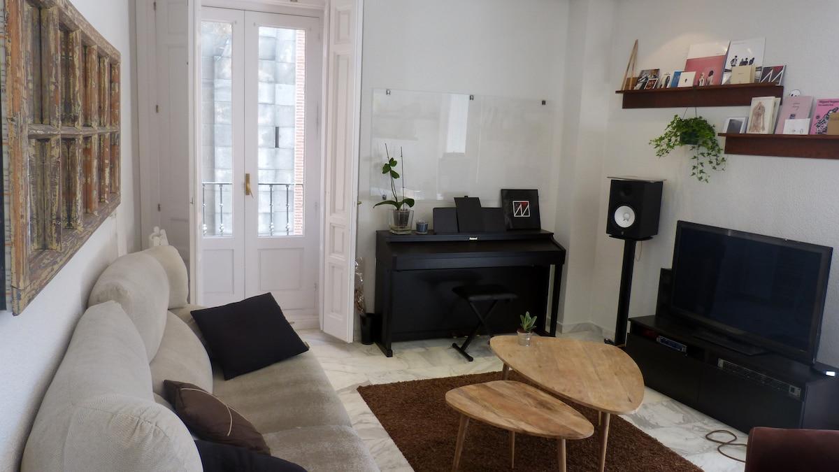 Apartamento idílico en La Latina
