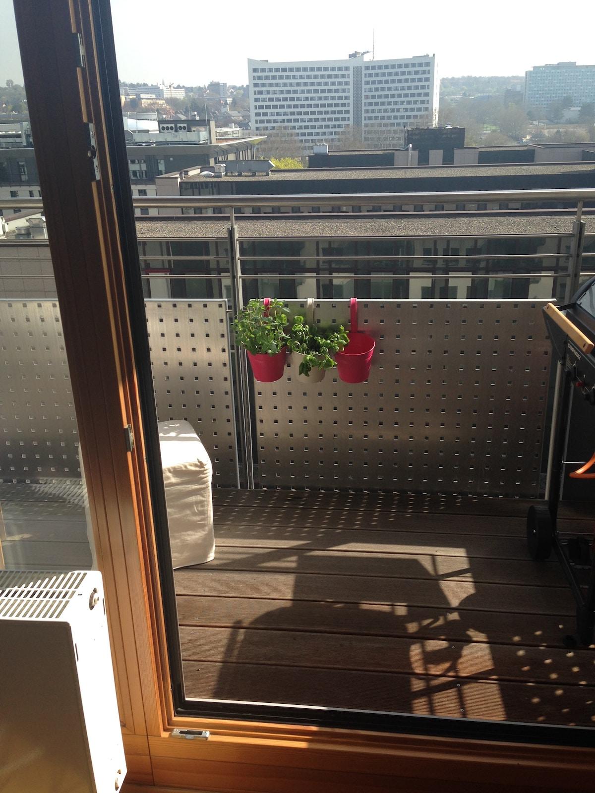 Tolle 2ZKB mit Balkon sehr zentral