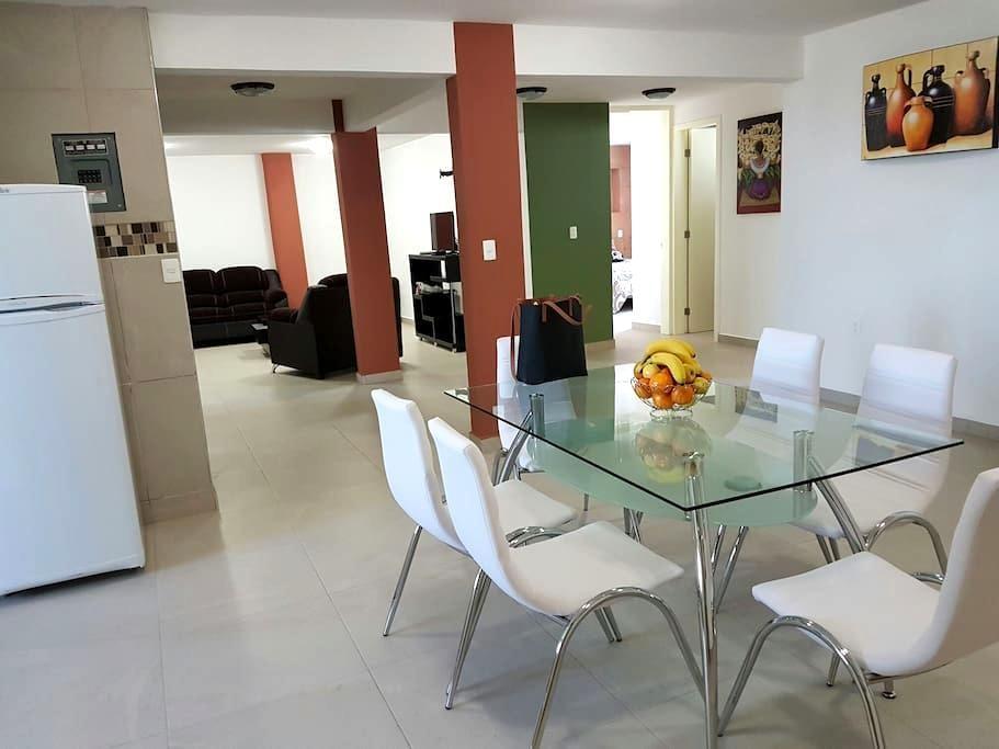 Depa para hasta 8 personas. - San Pedro Cholula, Puebla, MX - Apartment