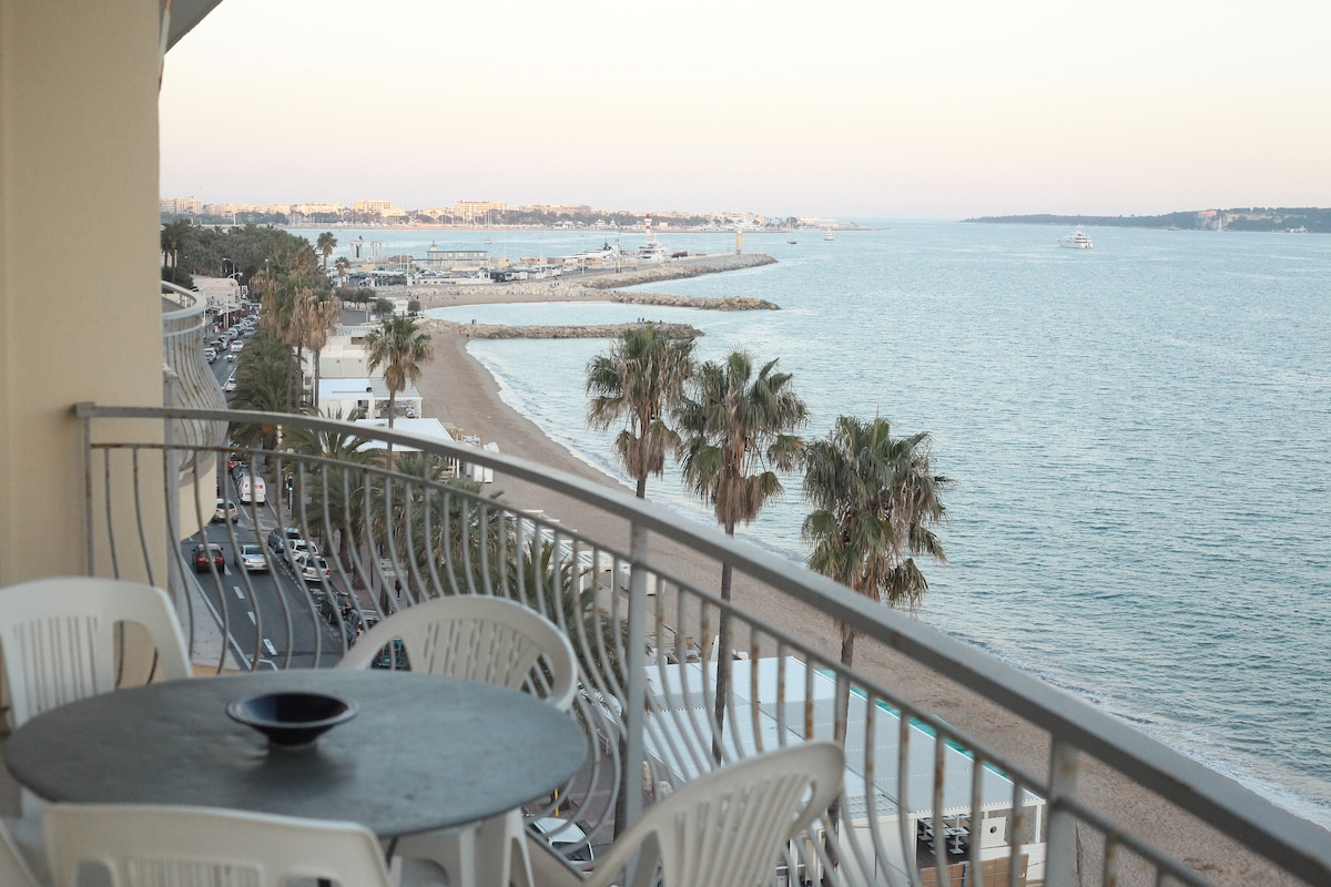 #Cannes #SeaFront# Terrace #100m2