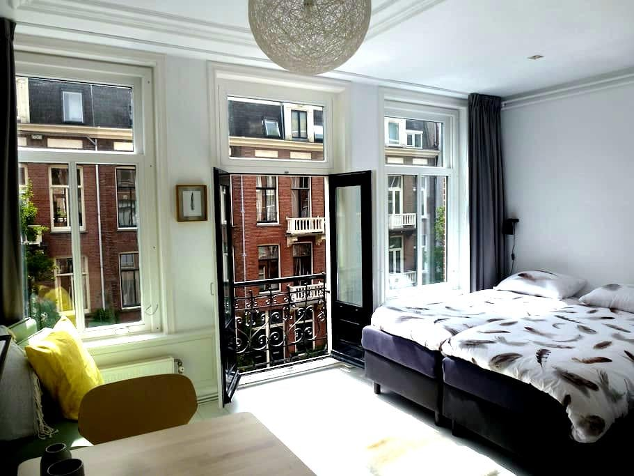 Luxury light and cosy apartment at top location - Ámsterdam