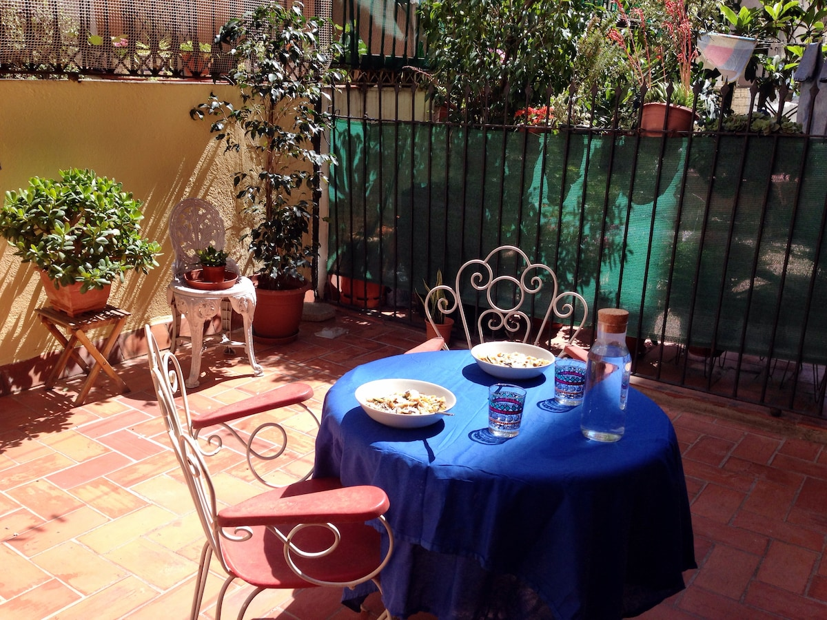 Double room, house with terrace