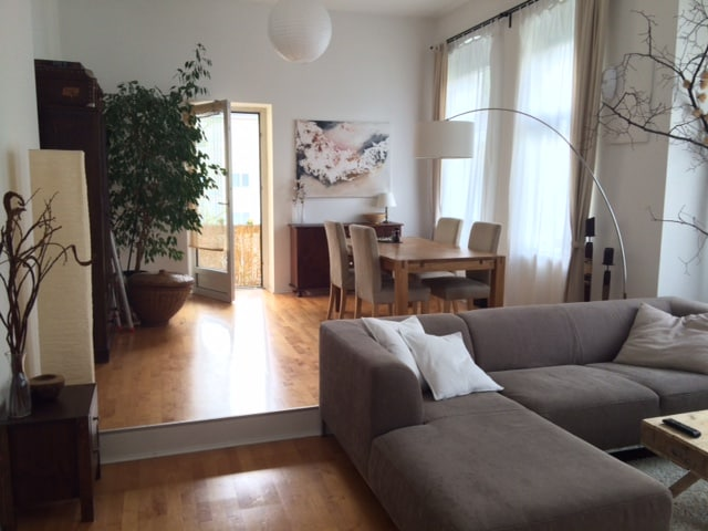 sunny flat in the centre of Berlin