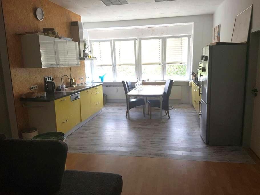 Tolle Dreizimmerwohnung für 4 Pers. - Roßdorf - Appartement