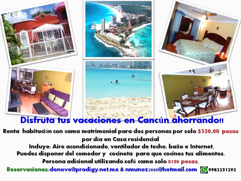 Disfruta Cancún Ahorrando¡