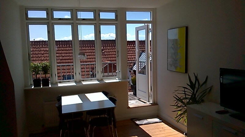 Cozy flat with south-facing balcony